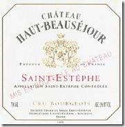 Château Haut-Beausejour Saint-Estephe 2005