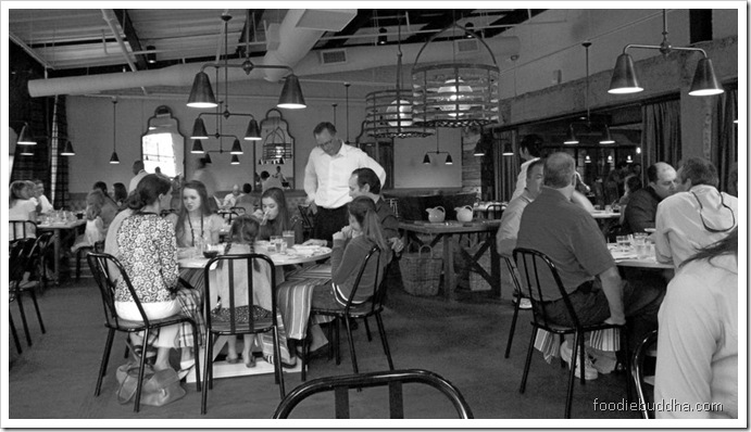the dining room at abattoir
