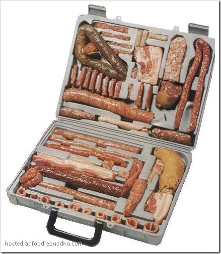 The Wurstkoffer, aka Sausage Briefcase