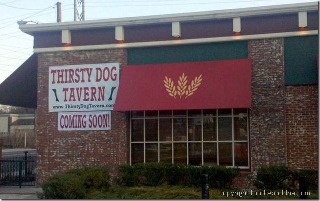 The Thirsty Dog Tavern is set to open on Monday, March 22nd,