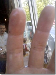 greasy fingers at farm burger
