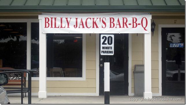 billy jack's bbq