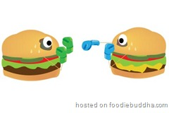 battle of the burgers fight