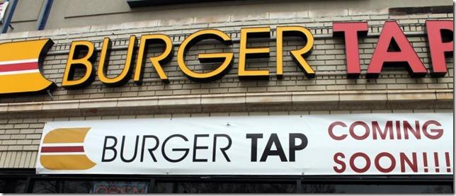 burger tap storefront